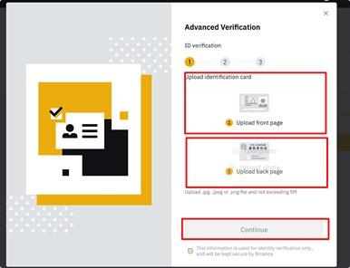 Hoe werkt Binance ID uploaden